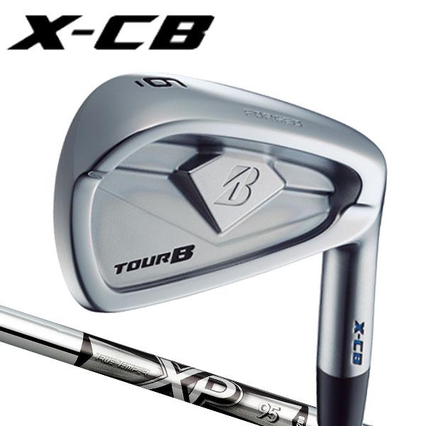 ブリヂストンゴルフ 2018NEW ツアーB X-CB (キャビティバック) アイアンセット [XPシリーズ] XP95 スチールシャフト 5本セット(#6~#9,PW)BRIDGESTONE TourB XCB IRONトゥルーテンパー S200/R300