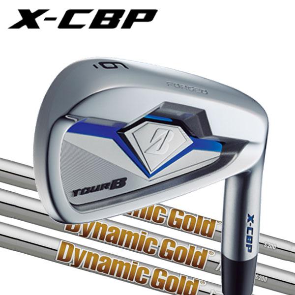 ブリヂストンゴルフ 2018NEW ツアーB X-CBP (ポケットキャビティ) アイアンセット [ニューダイナミックゴールドシリーズ] DG120/DG105/DG95スチールシャフト 6本セット(#5~#9,PW) BRIDGESTONE TourB XCBP IRONNEW DG