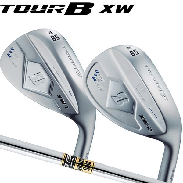 ブリヂストンゴルフ 2018NEW ツアーB XW-1 (ティアドロップ形状)/XW-2(丸型グース形状)シルバー仕上げ ウェッジ [ダイナミックゴールドシリーズ] スチールシャフト BRIDGESTONE TourB XW1/XW2 WEDGE DG X100/S400/S300/S200/R400