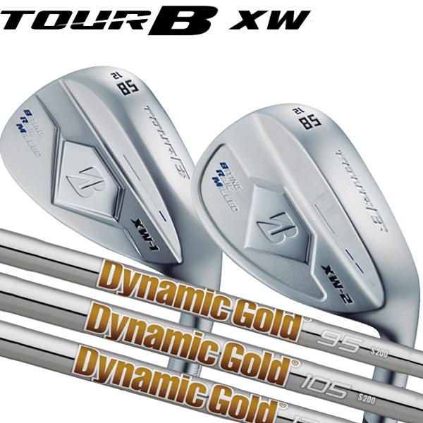 ブリヂストンゴルフ 2018NEW ツアーB XW-1 (ティアドロップ形状)/XW-2(丸型グース形状)シルバー仕上げ ウェッジ [ニューダイナミックゴールド] スチールシャフト BRIDGESTONE TourB XW1/XW2 WEDGE NEW DG120/105/95 X100/S200
