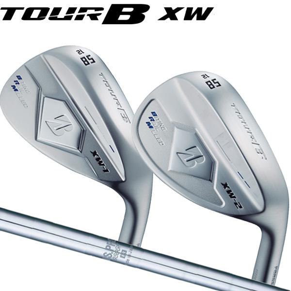 ブリヂストンゴルフ 2018NEW ツアーB XW-1 (ティアドロップ形状)/XW-2(丸型グース形状)シルバー仕上げ ウェッジ [NS プロ 950GH] スチールシャフト BRIDGESTONE TourB XW1/XW2 WEDGE NS PRO 950