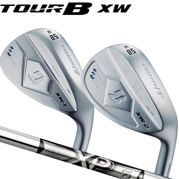 ブリヂストンゴルフ 2018NEW ツアーB XW-1 (ティアドロップ形状)/XW-2(丸型グース形状)シルバー仕上げ ウェッジ [XP95シリーズ] スチールシャフト BRIDGESTONE TourB XW1/XW2 WEDGE トゥルーテンパー S200/R300