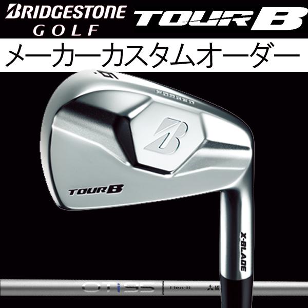 【メーカーカスタム】 ブリヂストンゴルフ ツアーB X-BLADE (マッスルバック) アイアンセット [OTアイアン シリーズ] OT Iron i105/i95/i85/i75 カーボンシャフト 5本セット(#6~PW)三菱レイヨンBRIDGESTONE TOUR B Xブレード
