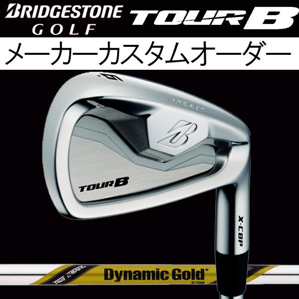ブリヂストンゴルフ ツアーB X-CBP (ポケットキャビティ) アイアンセット [ダイナミックゴールド ツアーイシュー シリーズ] スチールシャフト 6本セット(#5~#9,PW) BRIDGESTONE TourB XCBP IRON