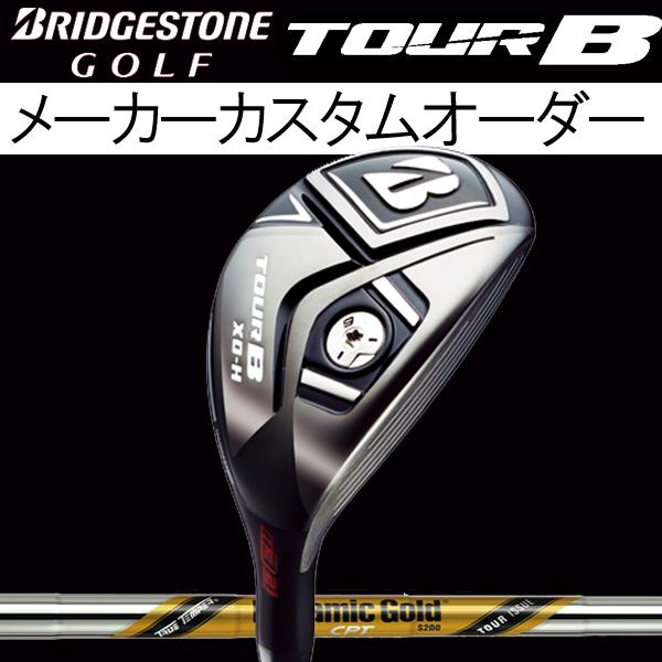 【メーカーカスタム】 ブリヂストンゴルフ ツアーB XD-H ユーティリティ [ダイナミックゴールド CPT ツアーイシュー] (TOUR ISSUE CPT)スチールシャフト BRIDGESTONE ツアーB XD-H トゥルーテンパー X100/S200