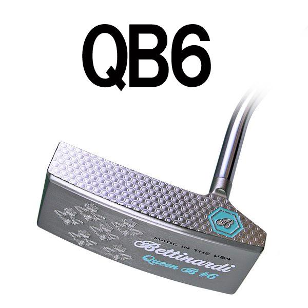 ベティナルディクイーンビーシリーズ QB6 パター (ワイドピン型) BETTINARDI QUEEN BEE SERIES PUTTER