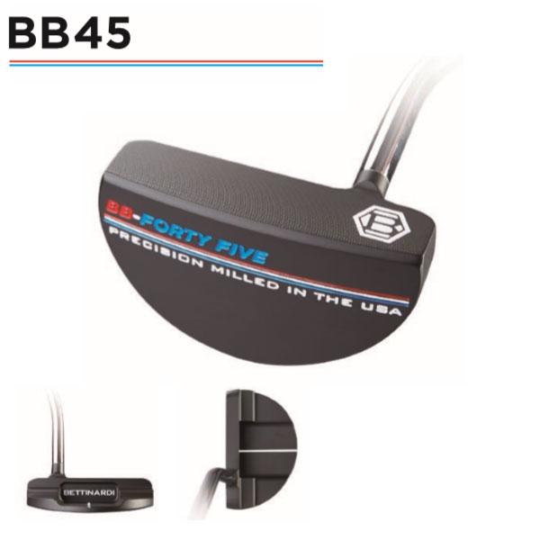 ベティナルディBBシリーズ BB45パター (マレット型) BETTINARDI BB SERIES PUTTER