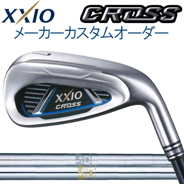 ゼクシオ CROSS(クロス) アイアン 4本セット(#7~PW) [NS PRO シリーズ] 950GH/980GH DST/930GH DST/870GH DST XXIO/850GH スチールシャフト (N.S PRO)日本シャフト ダンロップ iron キャビティバック DUNLOP XXIO