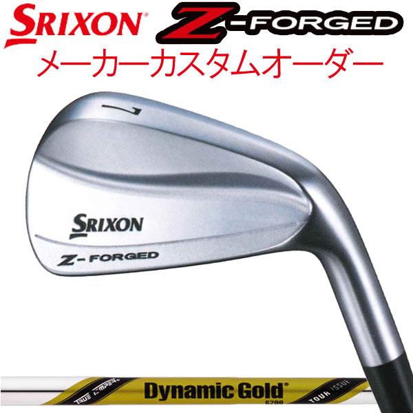 スリクソン NEW ZシリーズZフォージド アイアン [ダイナミックゴールド ツアーイシュー] スチールシャフト 6本セット(#5~PW) DG ISSUEダンロップ DUNLOP SRIXON iron Z FORGED