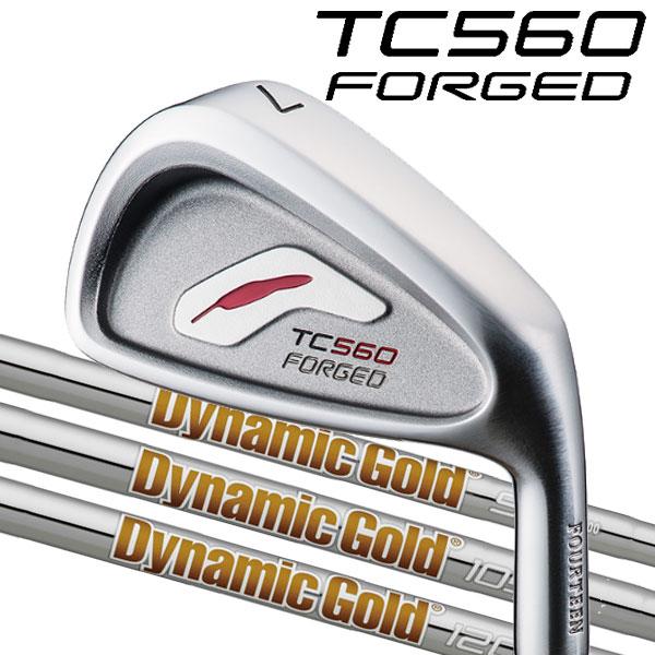 フォーティーン TC-560 フォージド アイアンセット [ニュー ダイナミックゴールド シリーズ] DG120/DG105/DG95 DG/X100/S200/S300/S400/R200/R400スチールシャフト 5本セット(#6~#9,PW)FOURTEEN TC560 FORGED