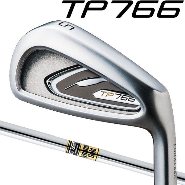 フォーティーン TP-766 アイアン アイアンセット [ダイナミックゴールド シリーズ] DG/DG SL/GS95/GS85 スチールシャフト 5本セット(#6~#9,PW)FOURTEEN TP766ポケットキャビティ・セミアスリートアイアン DYNAMIC GOLD