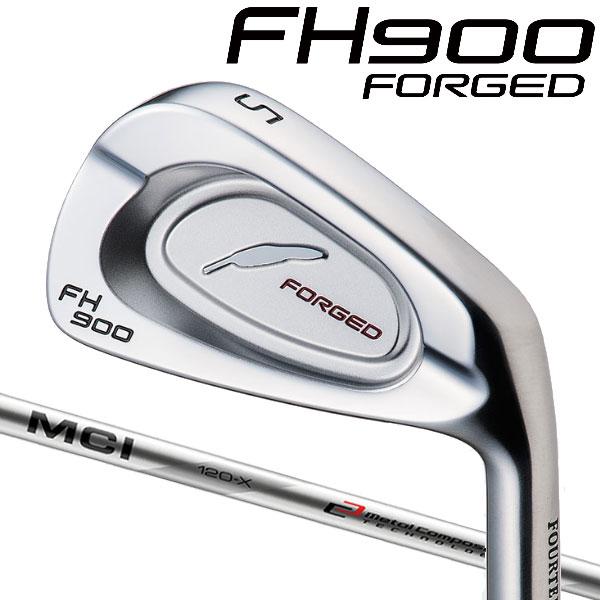 フォーティーン FH900 フォージド アイアン[MCI アイアン用] MCI 110/100/90 カーボンシャフト 5本セット(#6~#9,PW) FOURTEEN FH-900 FORGED 軟鉄 フジクラ