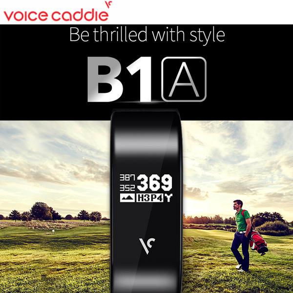 ボイスキャディ B1A 腕時計型GPSキャディー(GPS距離計測器/リストバンド型GPSゴルフナビ) ゴルフナビ Golf Voice Caddie B1A ウォッチ