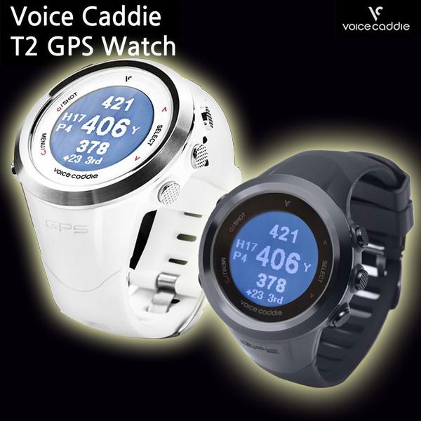 ボイスキャディ T2 腕時計型GPSキャディー(GPS距離計測器) ゴルフナビ Golf Voice Caddie T2 ウォッチ ポイント