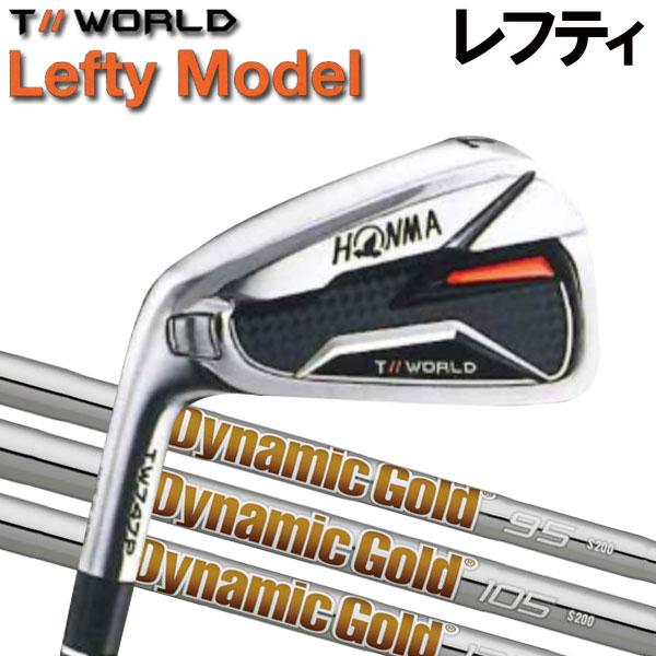 【レフティ(左用)】ホンマゴルフ TW747P アイアン [ダイナミックゴールド シリーズ] DG120/105/95 (DYNAMIC GOLD) スチールシャフト 6本セット(#5~#10) HONMA TOUR WORLD ツアーワールド本間ゴルフ