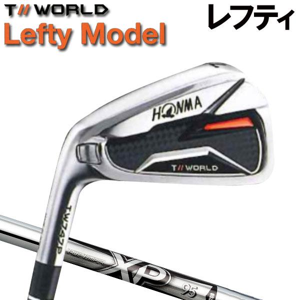 【レフティ(左用)】ホンマゴルフ TW747P アイアン [NEW XP シリーズ] XP95 (DYNAMIC GOLD) スチールシャフト 5本セット(#6~#10) HONMA TOUR WORLD T// ツアーワールド本間ゴルフ
