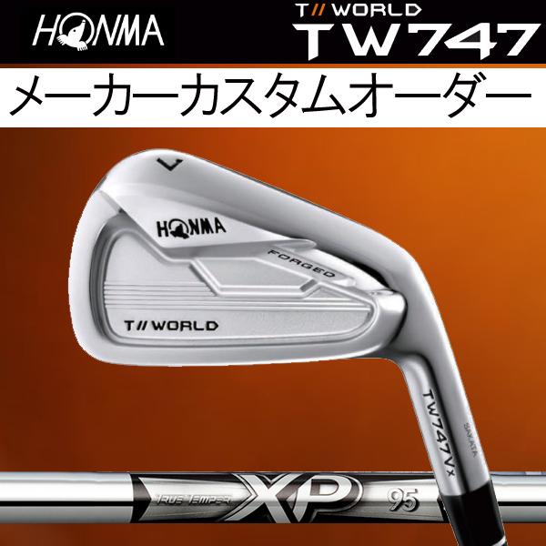 ホンマゴルフ TW747Vx アイアン [NEW XP シリーズ] XP95 (DYNAMIC GOLD) スチールシャフト 6本セット(#5~#10) HONMA TOUR WORLD T// ツアーワールド本間ゴルフ 747VX ブイエックス