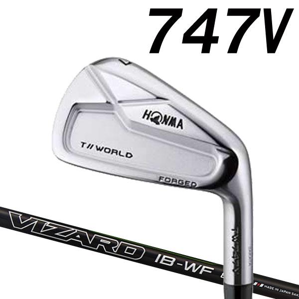 ホンマゴルフ TW747V アイアン [ホンマ純正 VIZARD IB-WF for Iron] IB-WF100/IB-WF85カーボンシャフト  6本セット(#5~#10) HONMA TOUR WORLD T// ツアーワールド本間ゴルフ 747V ブイ
