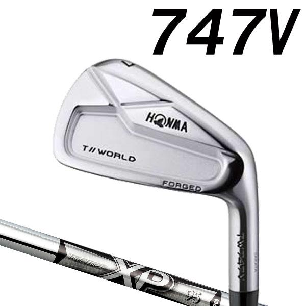 ホンマゴルフ TW747V アイアン [NEW XP シリーズ] XP95 (DYNAMIC GOLD) スチールシャフト 5本セット(#6~#10) HONMA TOUR WORLD T// ツアーワールド本間ゴルフ 747V ブイ