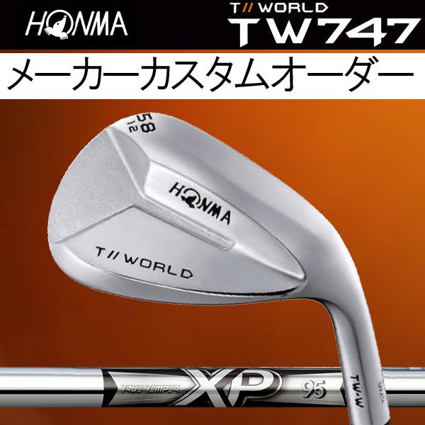 ホンマゴルフ 4代目 NEW TW-W フォージド ウェッジ[NEW XP シリーズ] XP95 (DYNAMIC GOLD) スチールシャフト HONMA TOUR WORLD T// ツアーワールド本間ゴルフ ニュー TW W WEDGE