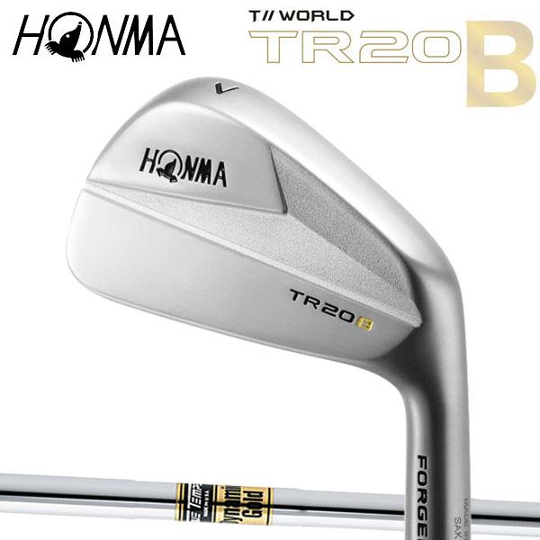 ホンマゴルフ TR20B マッスルバックアイアン [ダイナミックゴールド シリーズ] DG(DYNAMIC GOLD) スチールシャフト 5本セット(#6~#10) HONMA TOUR WORLD ツアーワールド 本間ゴルフ