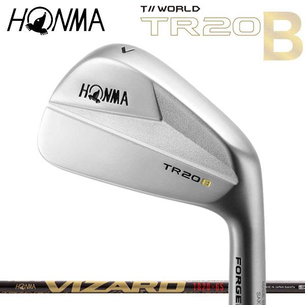 [ホンマ純正 TR20B TOUR WORLD マッスルバックアイアン カーボンシャフト T// 5本セット(#6~#10) TR20-65/75/85]  ツアーワールド本間ゴルフ ホンマゴルフ VIZARD HONMA