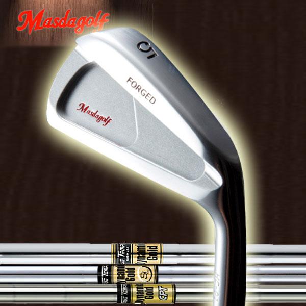 【メーカーカスタム】マスダゴルフ HC-01 アイアン [ダイナミックゴールド シリーズ] DG /SL /CPT スチールシャフト 6本セット(#5~#9, PW) トゥルーテンパー X100/S400/S300/S200/R400/R300/R200 MASDA GOLF