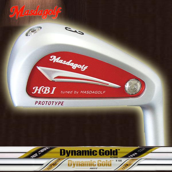 マスダゴルフ HBI アイアン型ユーティリティ[ダイナミックゴールド ツアーイシュー シリーズ] DG ISSUE/DG ISSUE AMT (DYNAMIC GOLD) スチールシャフト トゥルーテンパー X100/S200 MASDA GOLF