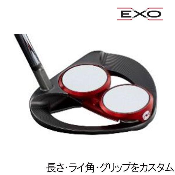 オデッセイ EXO(エクソー) パター 2BALLエス(スラントネック)(2ボールS) ネオマレット型(マレットタイプ) ODYSSEY EXO