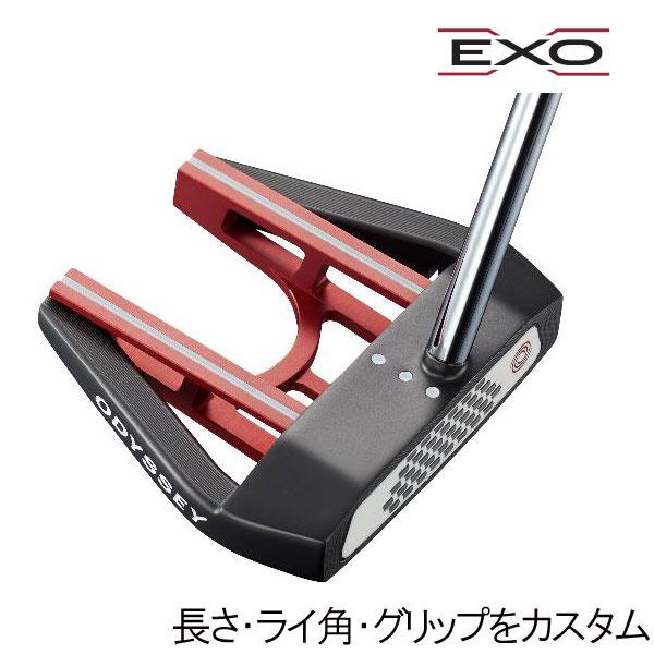 オデッセイ EXO(エクソー) パター セブン センターシャフト(7 SEVEN CS) ネオマレット型(マレットタイプ) ODYSSEY EXO