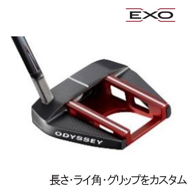 オデッセイ EXO(エクソー) パター セブン ミニ エス(スラントネック)(7 SEVEN MINI S) ネオマレット型(マレットタイプ) ODYSSEY EXO