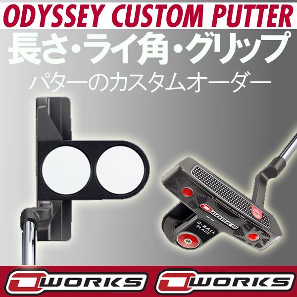 オデッセイ オー・ワークス パター 2ボール ブレード ネオマレット型 ODYSSEY O-WORKS オーワークスOワークス