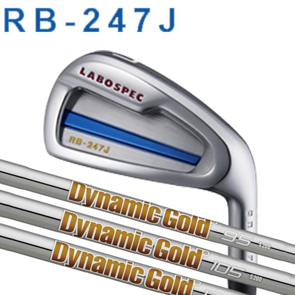 オノフ ラボスペック RB-247J 限定アイアン 5本セット(#6~PW)ニューダイナミックゴールド DG95/DG105/DG120/X100/S400/S300/S200/R400 スチールシャフト グローブライド ONOFF LABOSPEC iron GLOBERIDE RB247J