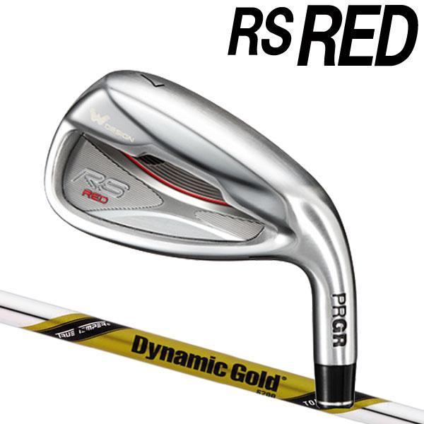 プロギア 新RS RED 2019 アイアン [ダイナミックゴールド ツアーイシュー] イシュー DG/X100/S200 スチールシャフト 6本セット(#5~#9,PW) PRGR アールエスレッド RSRED