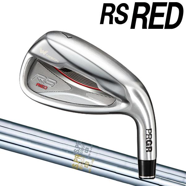 プロギア 新RS RED 2019 アイアン [NSプロシリーズ]NS1050GH/950GH/850GH スチールシャフト 5本セット(#6~#9,PW) PRGR アールエス 18RS IRON PRGR アールエスレッド RSRED