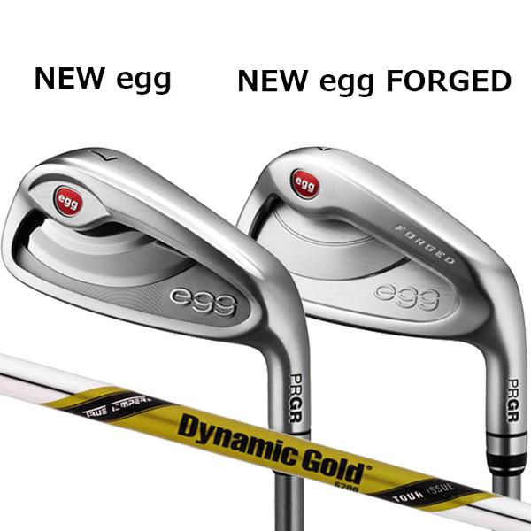 プロギア 2020年 ニュー エッグ アイアンセットNEW egg(飛距離特化)/NEW egg FORGED(軟鉄フォージド)6本セット(#6~#9,PW,AW) [ダイナミックゴールド ツアーイシュー] DG Tour ISSUE スチールシャフト PRGR 2020 新 NEW egg iron 2タイプ