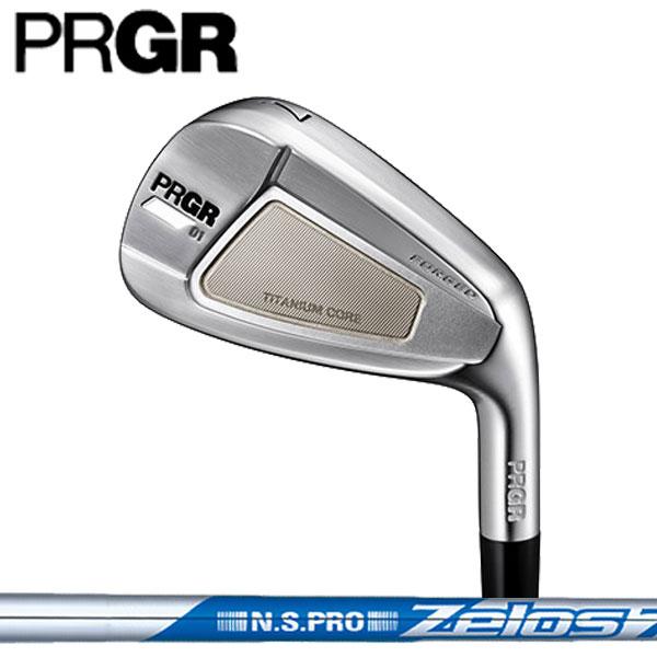 プロギア 01(ゼロイチ) アイアンセット6本セット(#5~#9,PW)[NS PRO ZELOSシリーズ] ゼロス 6/7/8 スチールシャフト PRGR 01 iron