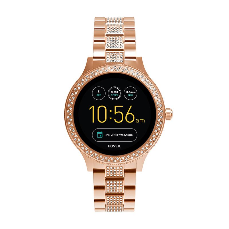 【P最大28倍/22日20:00~26日1:59】『母の日 公式ショッパープレゼント』30%OFF Gen3 フォッシル タッチスクリーン スマートウォッチ 公式 2年 保証 Fossil iphone android 対応 ウェアラブル Smartwatch 腕時計レディース ベンチャー FTW6008 VENTURE