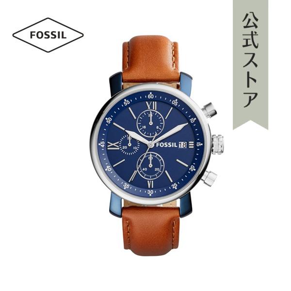 『公式ショッパープレゼント』30%OFF フォッシル 腕時計 公式 2年 保証 Fossil メンズ BQ2163 RHETT 42mm