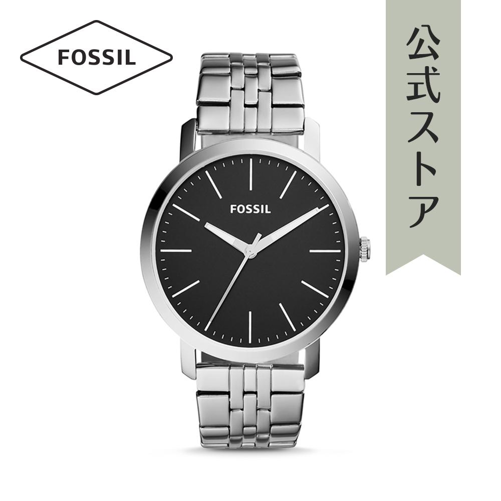 『公式ショッパープレゼント』30%OFF フォッシル 腕時計 公式 2年 保証 Fossil メンズ LUTHER 3H BQ2312