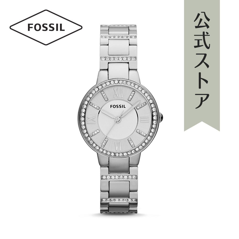 『公式ショッパープレゼント』フォッシル 腕時計 公式 2年 保証 Fossil レディース ヴァージニア ES3282 VIRGINIA