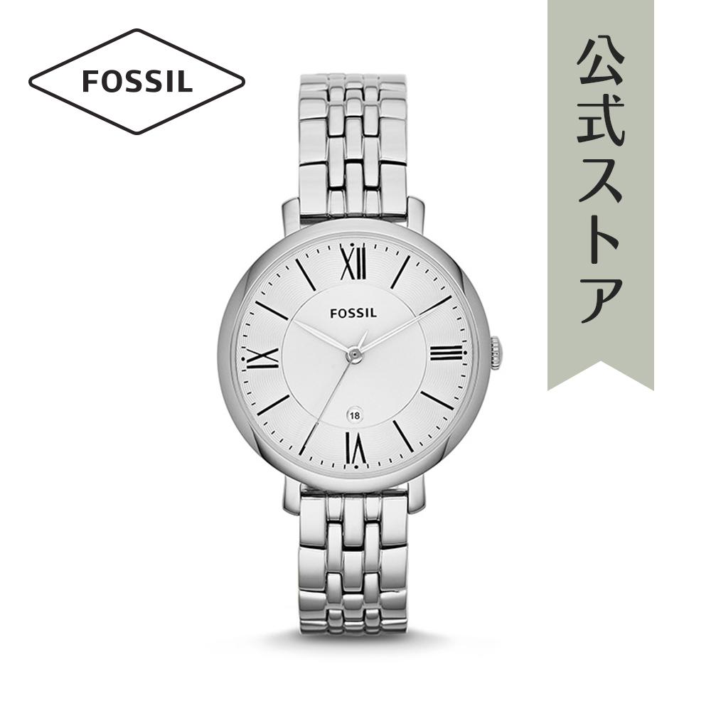 『公式ショッパープレゼント』フォッシル 腕時計 公式 2年 保証 Fossil レディース ジャクリーン ES3433 JACQUELINE