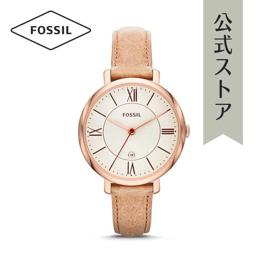 『公式ショッパープレゼント』フォッシル 腕時計 公式 2年 保証 Fossil レディース ジャクリーン ES3487 JACQUELINE