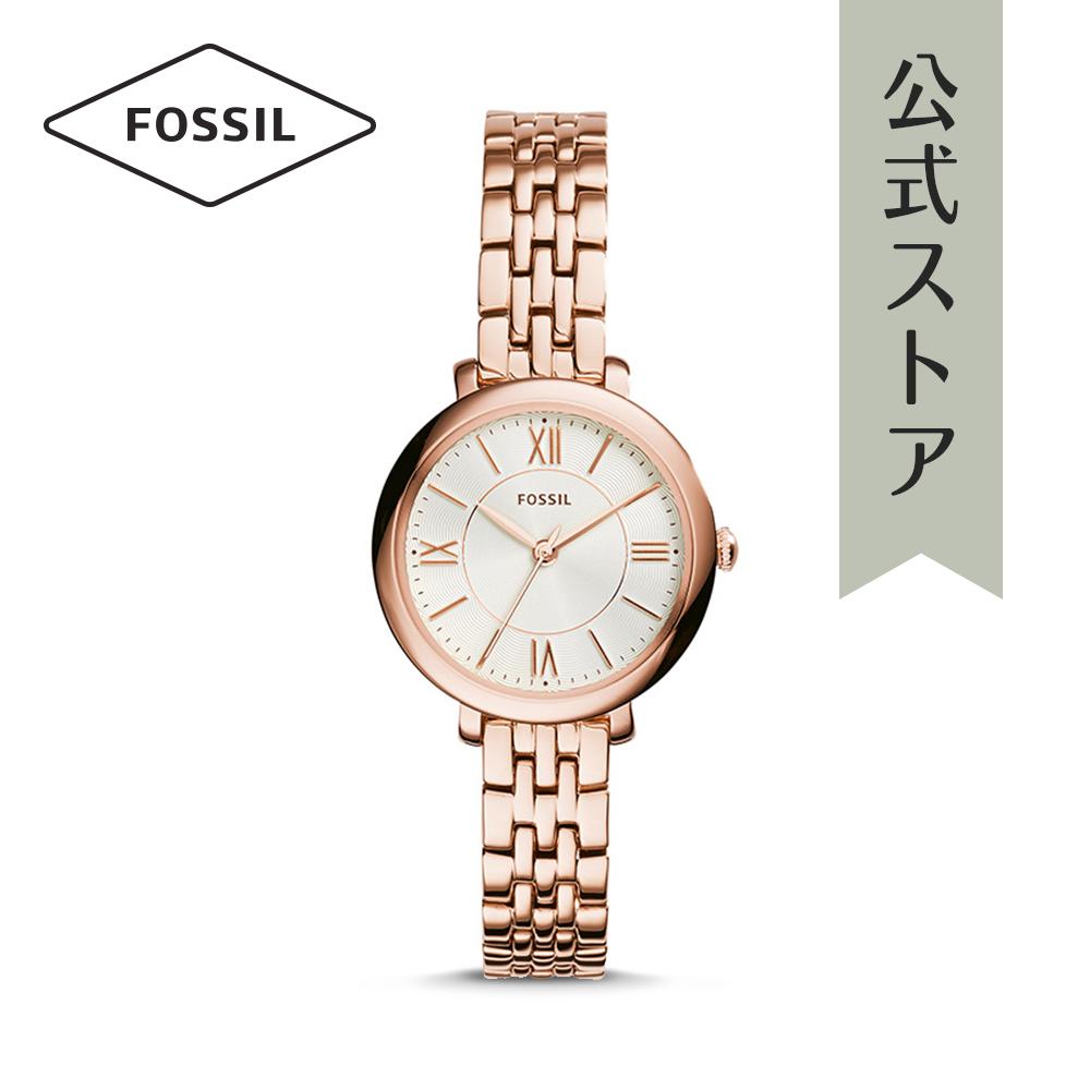 『公式ショッパープレゼント』フォッシル 腕時計 公式 2年 保証 Fossil レディース ミニ ジャクリーン ES3799 MINI JACQUELINE