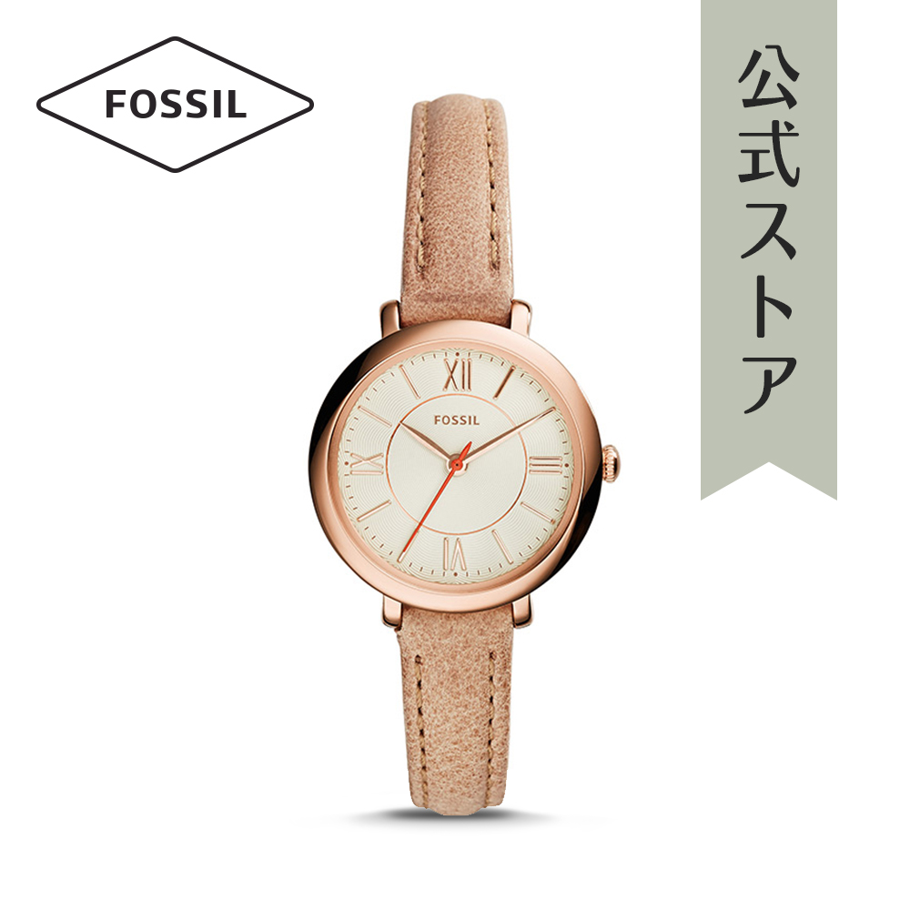 『公式ショッパープレゼント』25%OFF フォッシル 腕時計 公式 2年 保証 Fossil レディース ミニ ジャクリーン ES3802 MINI JACQUELINE