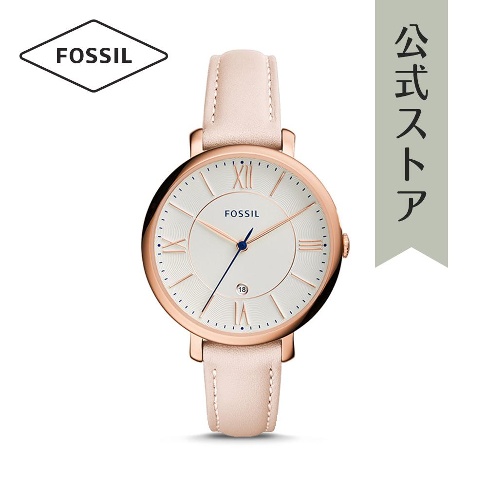 【1000円OFFクーポン配布中/25日まで】【公式ショッパープレゼント】フォッシル 腕時計 公式 2年 保証 Fossil レディース ジャクリーン ES3988 JACQUELINE