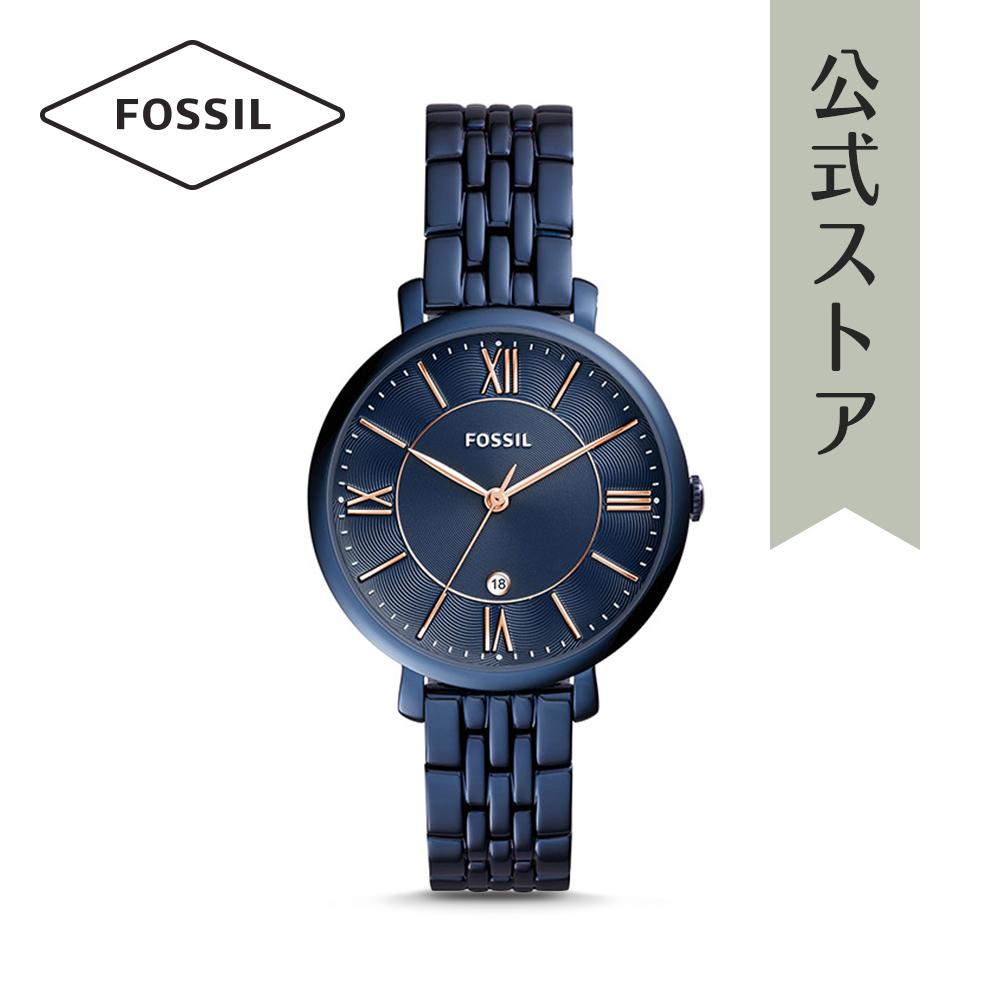 『公式ショッパープレゼント』フォッシル 腕時計 公式 2年 保証 Fossil レディース ジャクリーン ES4094 JACQUELINE