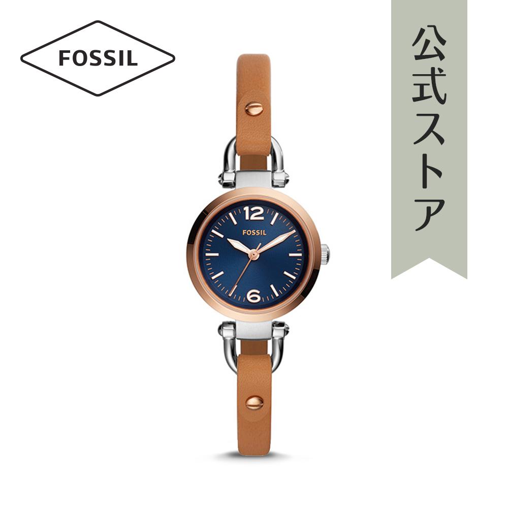 『公式ショッパープレゼント』フォッシル 腕時計 公式 2年 保証 Fossil レディース ジョージア ES4277 GEORGIA