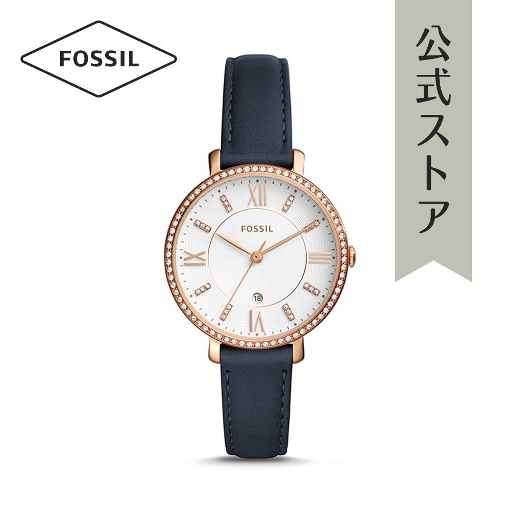 『公式ショッパープレゼント』フォッシル 腕時計 公式 2年 保証 Fossil レディース ジャクリーン ES4291 JACQUELINE