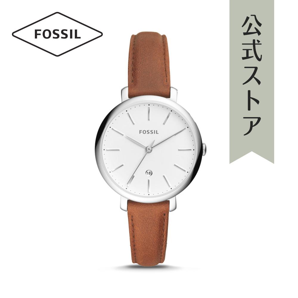 『公式ショッパープレゼント』フォッシル 腕時計 公式 2年 保証 Fossil レディース ジャクリーン ES4368 JACQUELINE